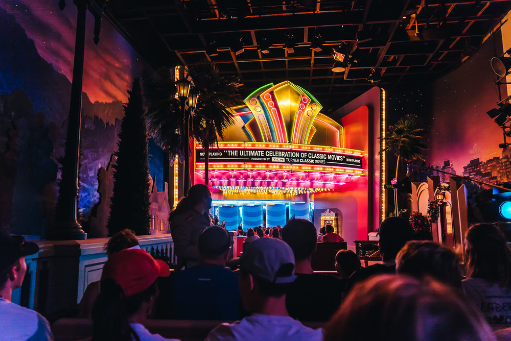 The Great Movie Ride takes you through nostalgic movies