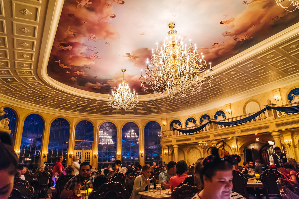 The main dining room, the Ballroom