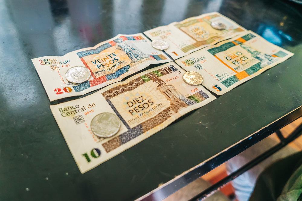 CUC - Cuban Convertible Peso