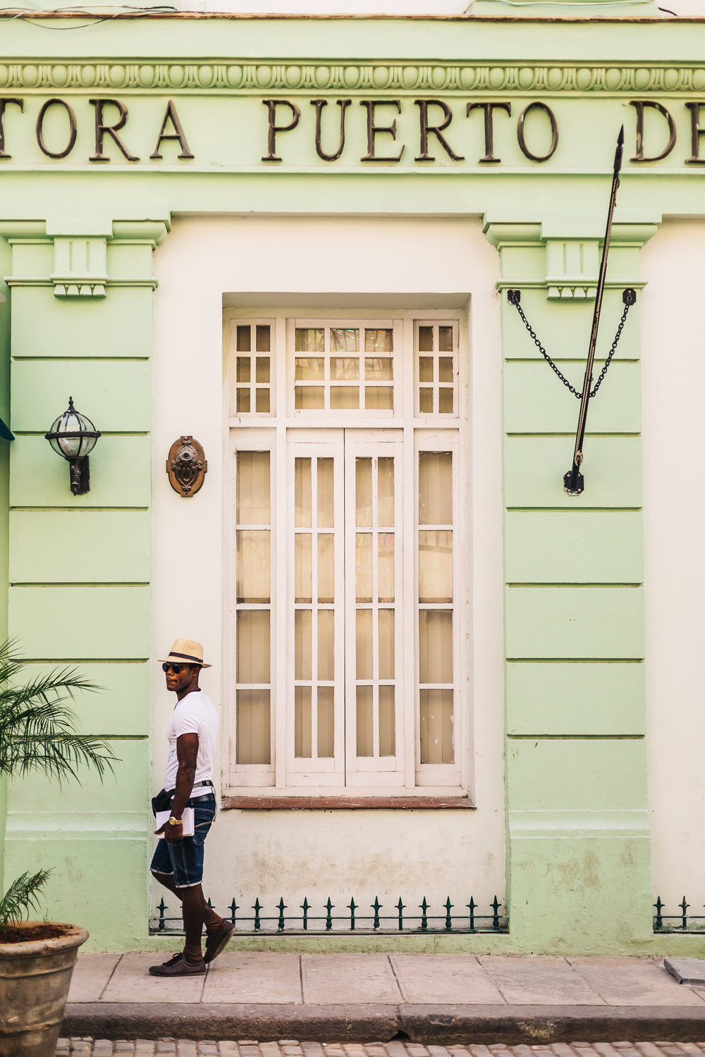 The colorful buildings of Havana are what Cuba is well known for