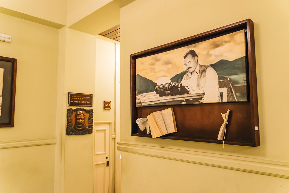 Room 511 - Ernest Hemingway's room
