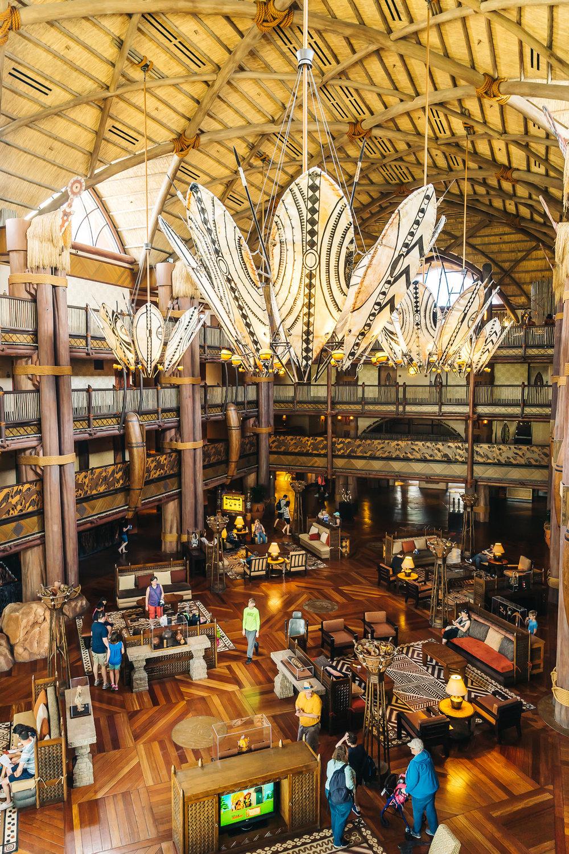 Jambo House lobby