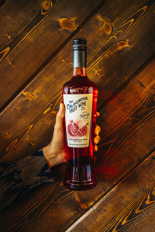 Pomegranate Wine  *California fruit wine co. is now fruitcraft