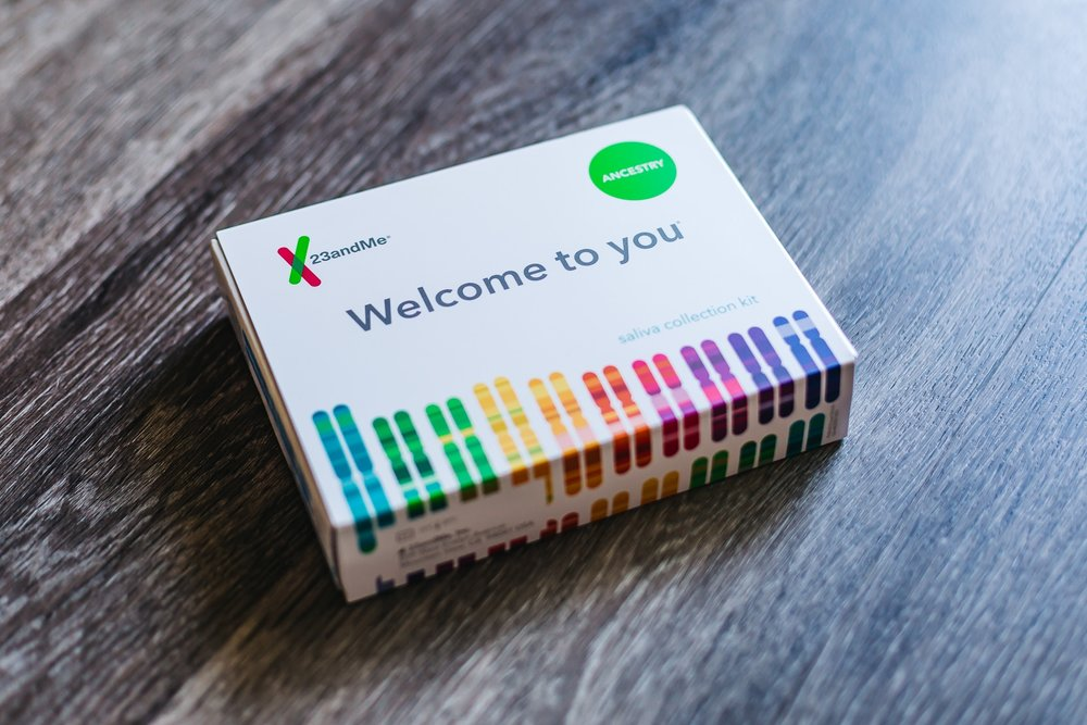 23ANDME'S SALIVA COLLECTION KIT