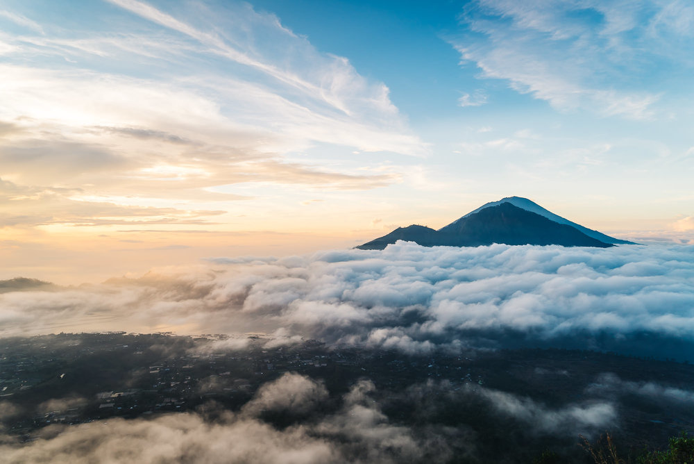 Incredible views On top of Mount Batur