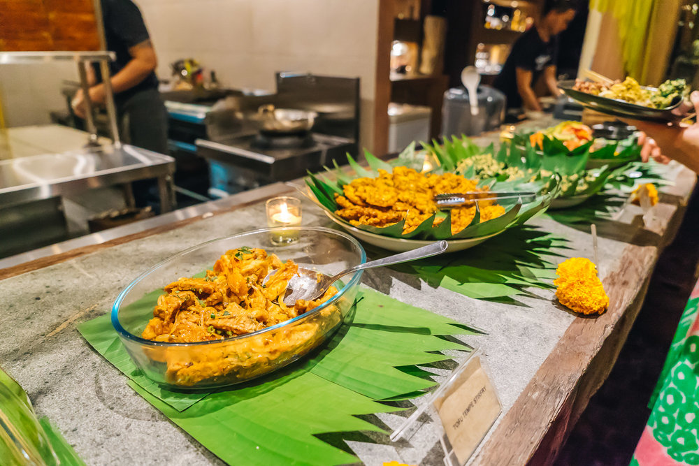 Balinese Welcome Dinner