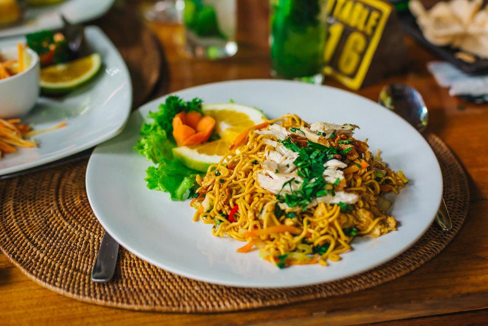 Traditional Balinese dish - Mie Goreng