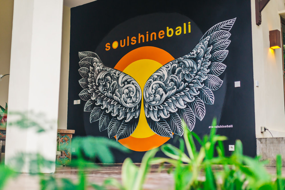 Yoga retreat at Soulshine Bali