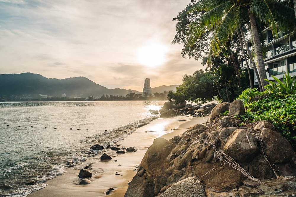 Amari Phuket is right on the beach