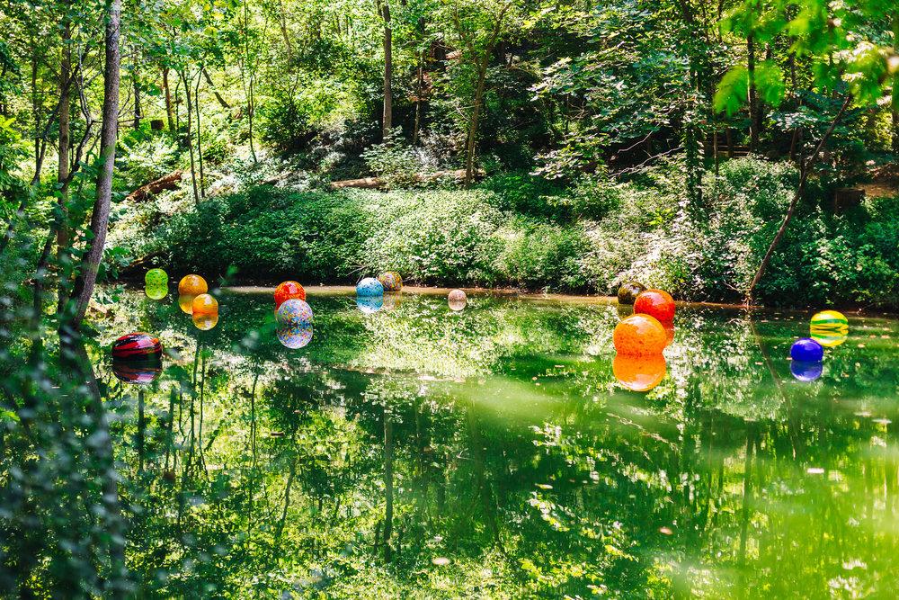 Chihuly's Niijima Floats