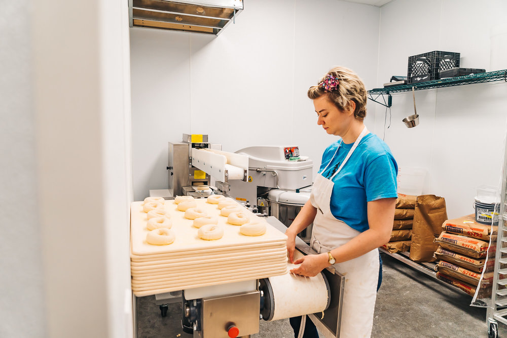 Bagels handcrafted from scratch