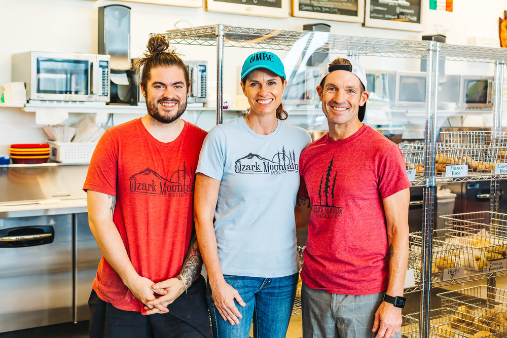 The beautiful family that run Ozark Mountain Bagel