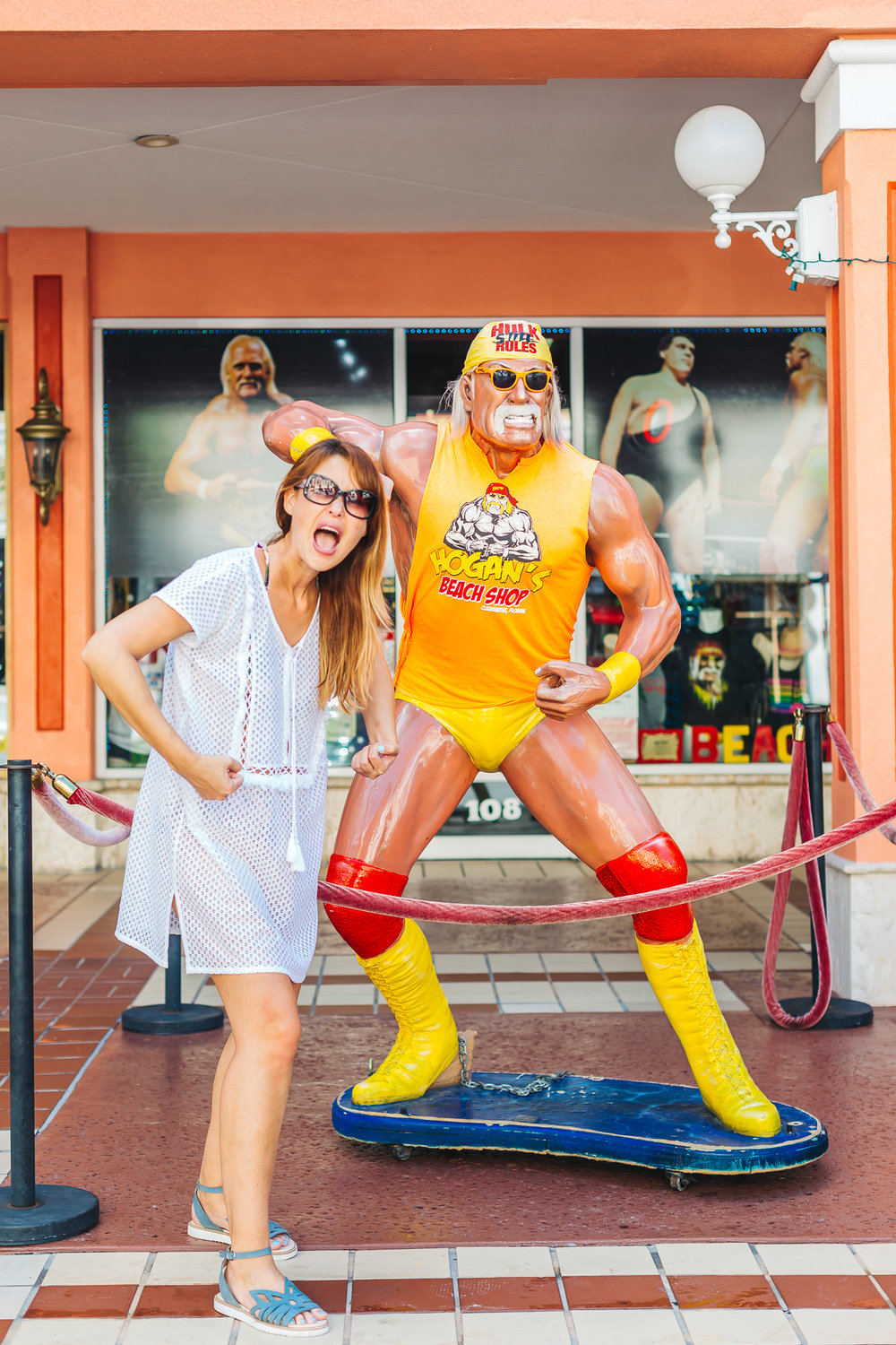 Hulk it out with Hulk Hogan!