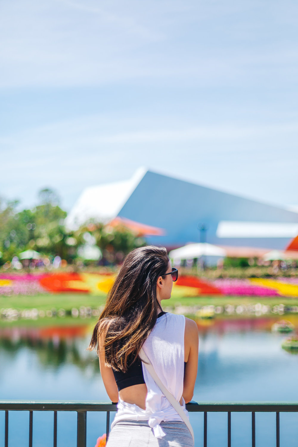 Using the   50MM lens   at   Disney World