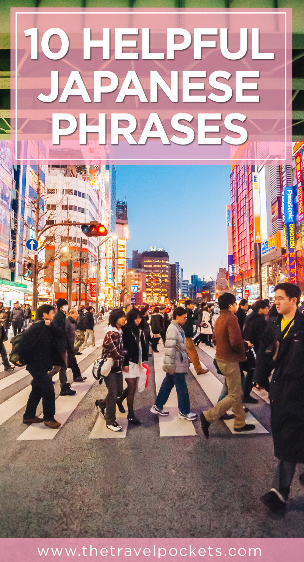 Japanese Phrases www.thetravelpockets.com