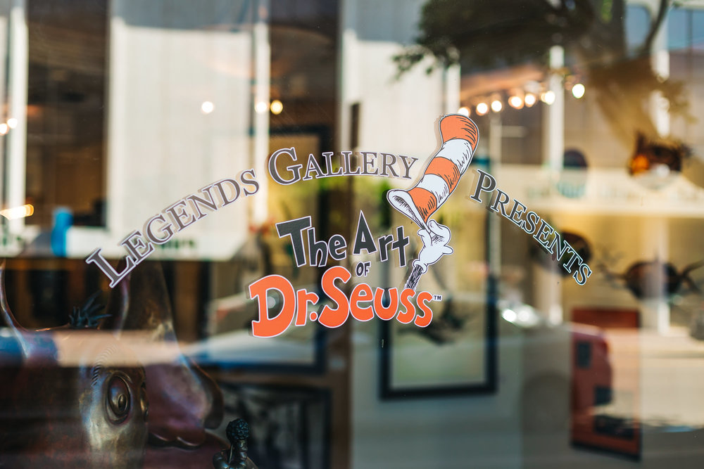 "LEGENDS GALLERY ""THE ART OF DR. SEUSS"""