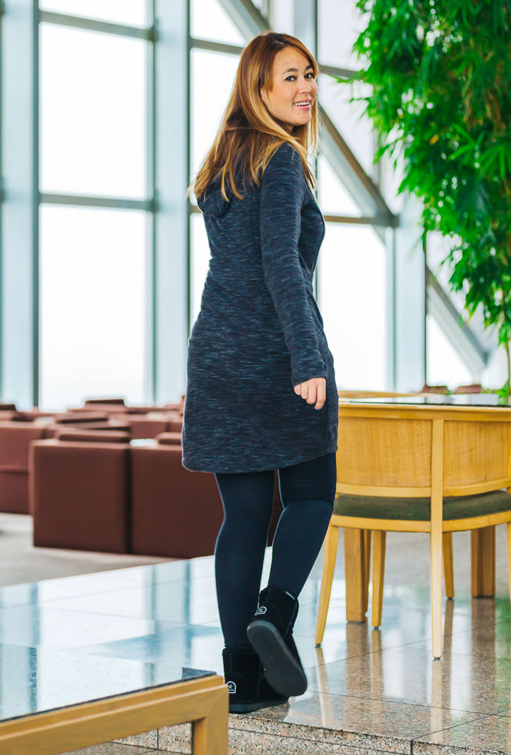 Athleta Sweatshirt Dress