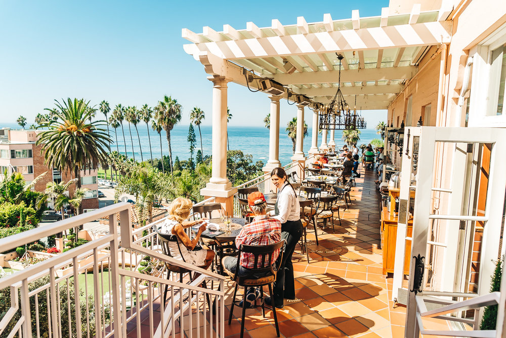LA VALENCIA HOTEL IN LA JOLLA, CALIFORNIA