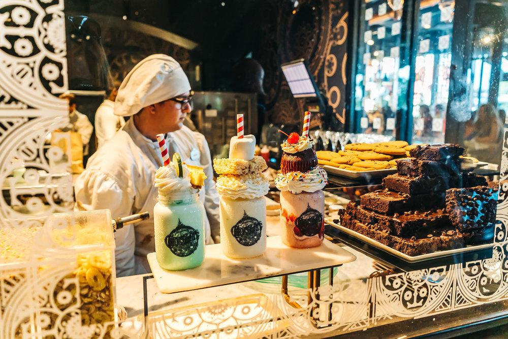 Chocolate Emporium's famous artisanal shakes