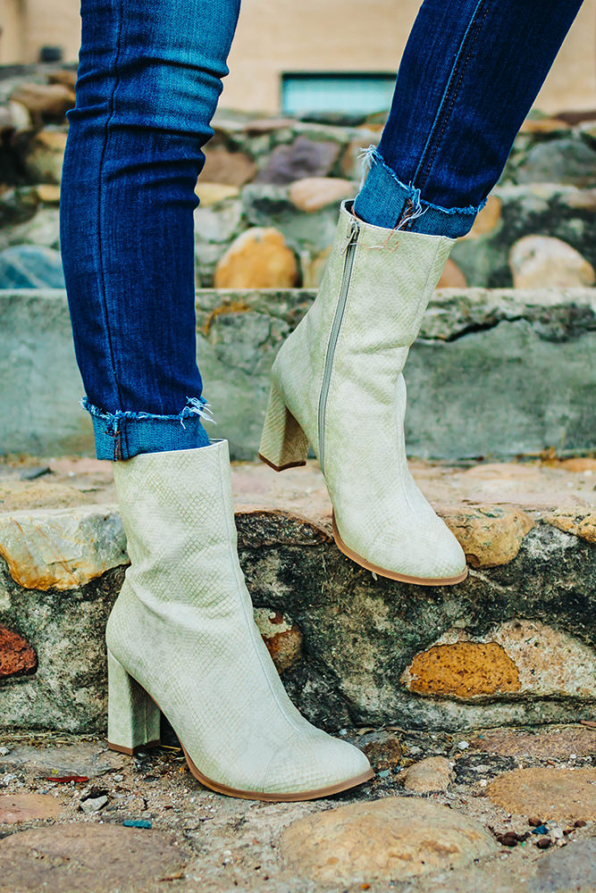 Famous footwear booties