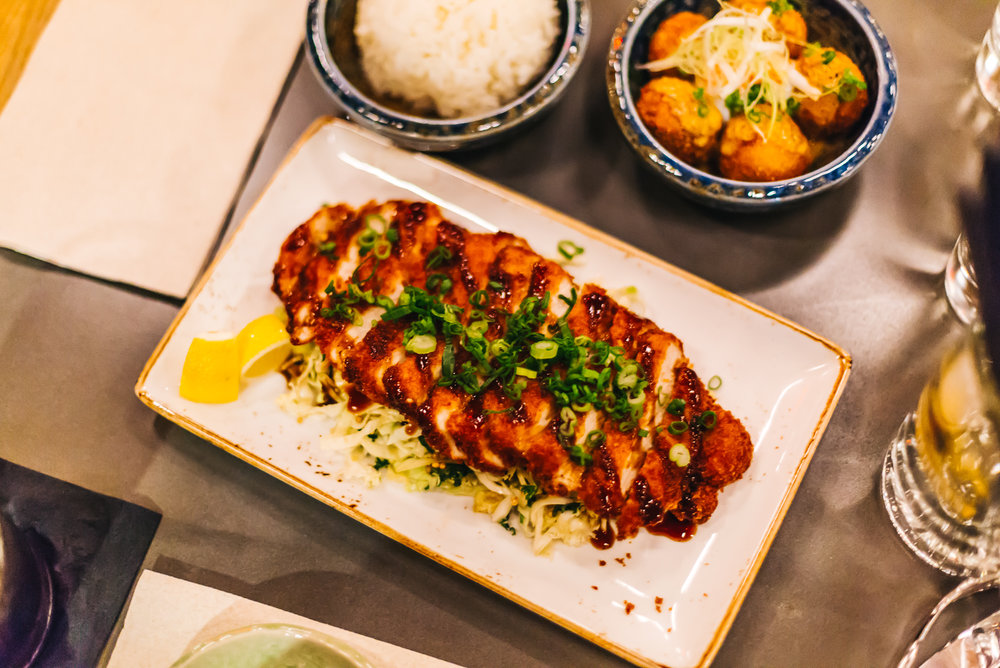 Tonkatsu - breaded pork loin