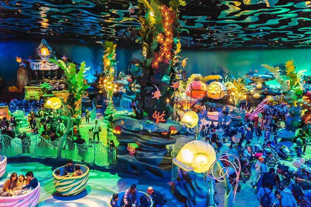 Mermaid Lagoon at DisneySea