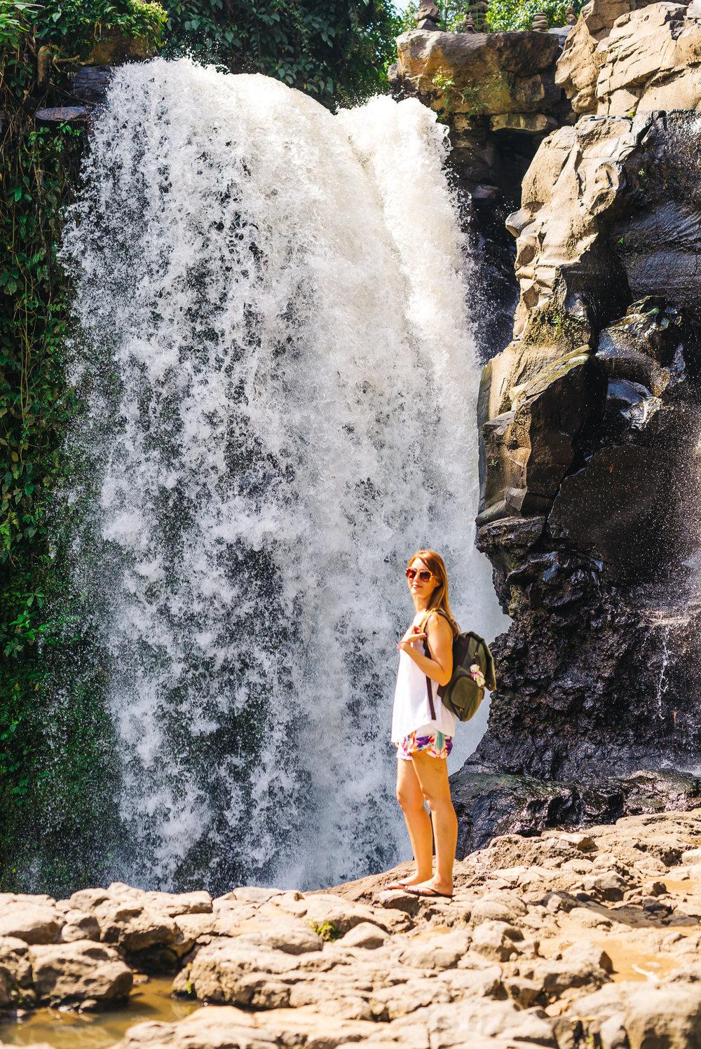 Tegenungan Waterfall www.thetravelpockets.com