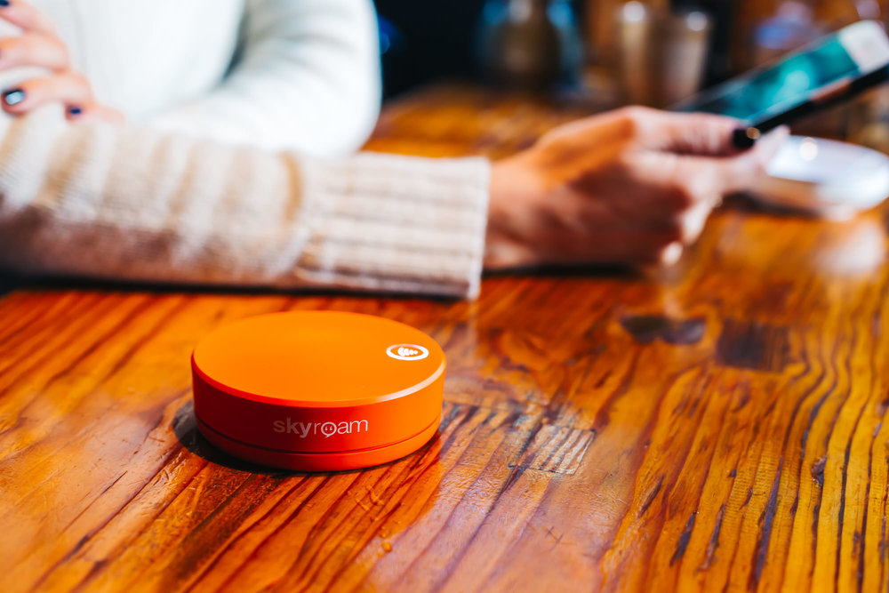 Using the new Skyroam Solis in Japan