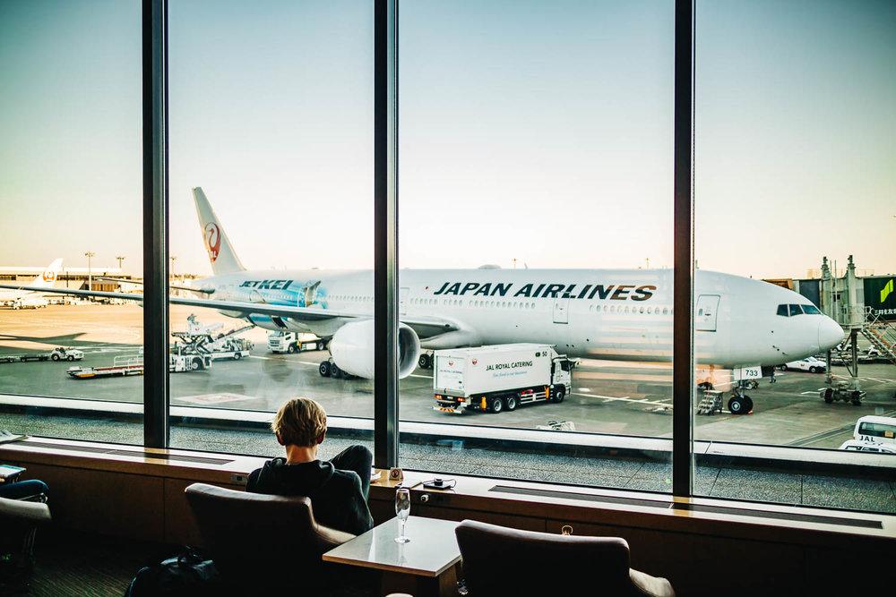 SAKURA LOUNGE NARITA AIRPORT