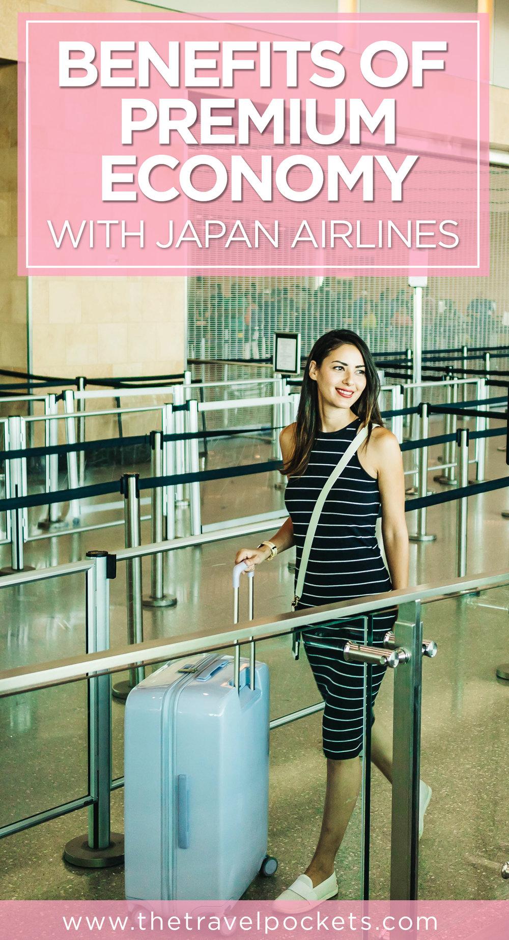 JAL Premium Economy Pinterest
