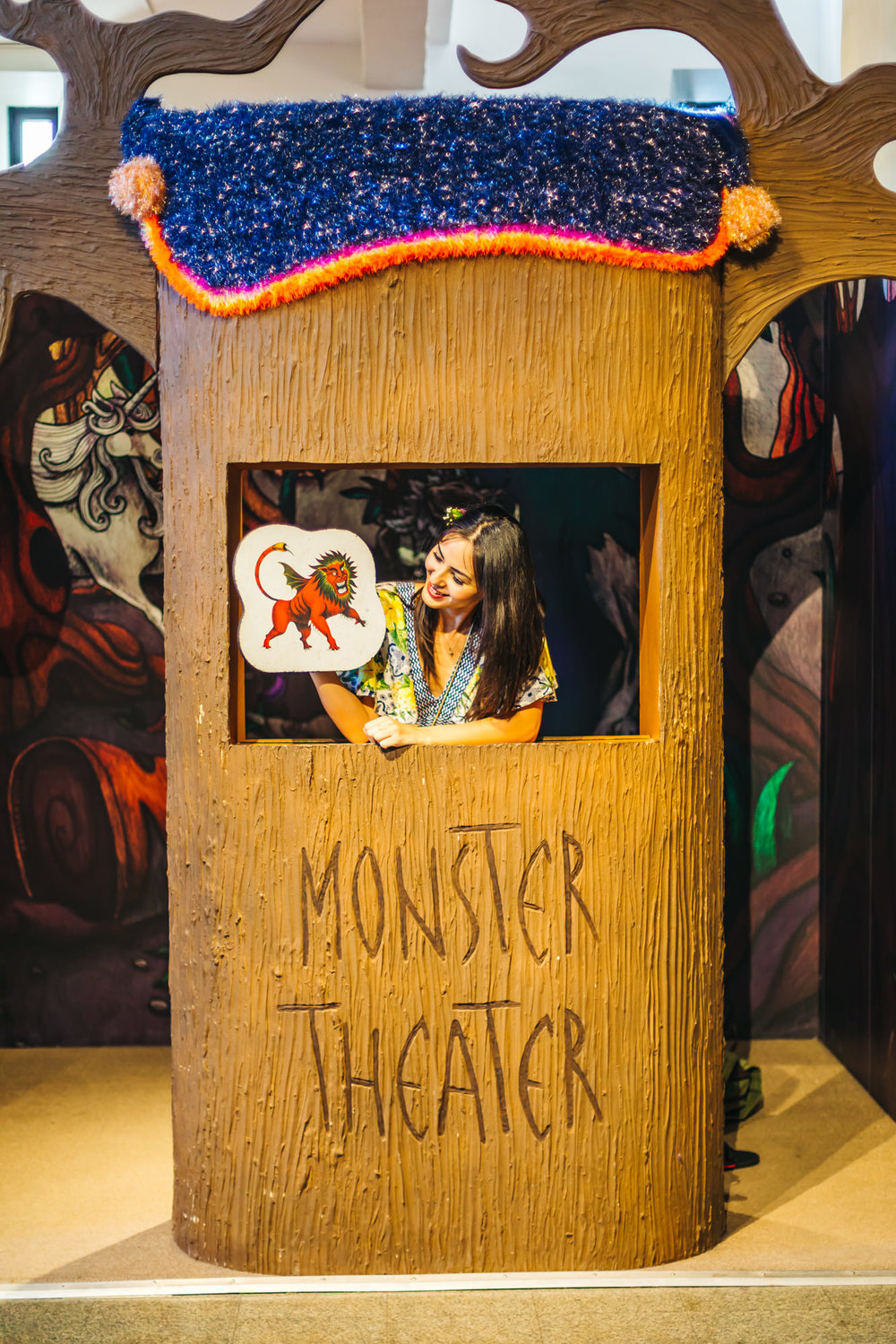 Museum of Man Monster Theater