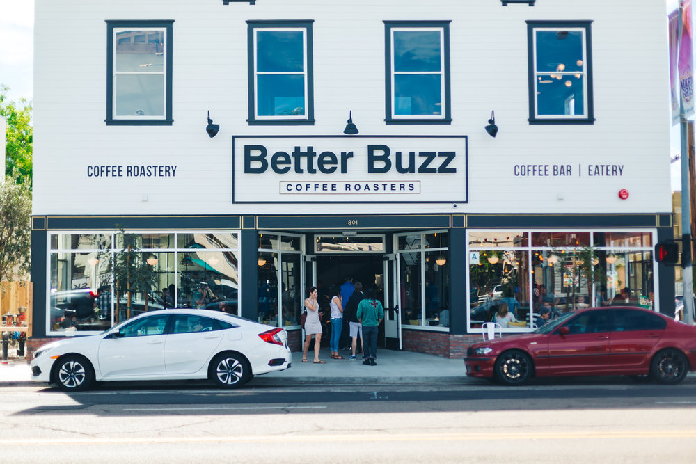 Better Buzz Coffee Hillcrest San Diego, california