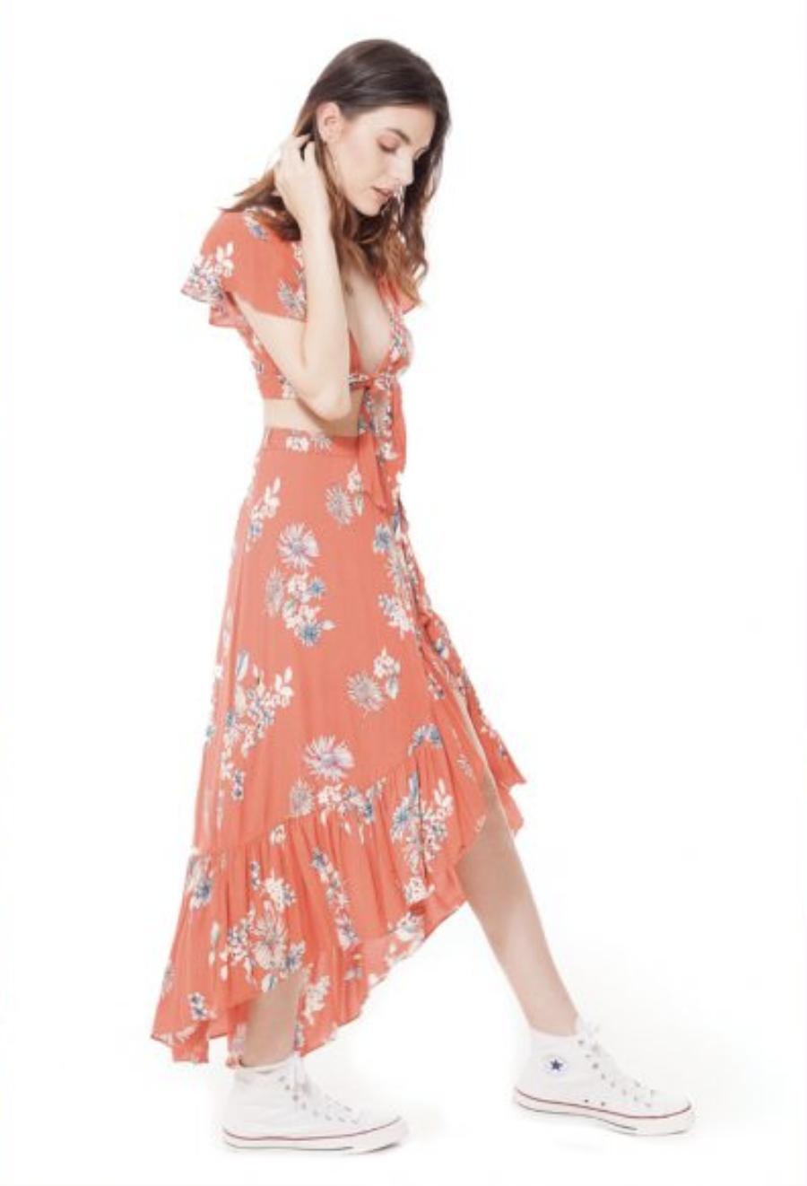 California MoonRise Two-Piece Dress