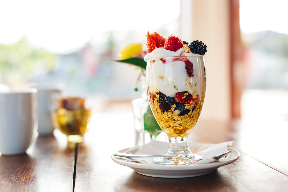 CAFE MADELEINE YOGURT PARFAIT