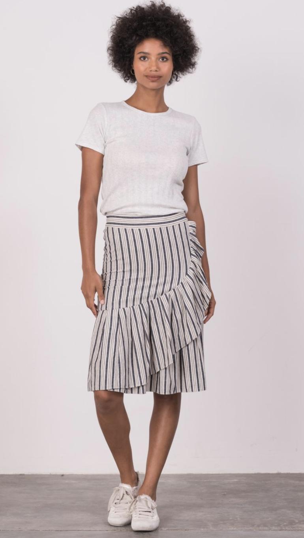 Margaret O'Leary Ruffle Skirt