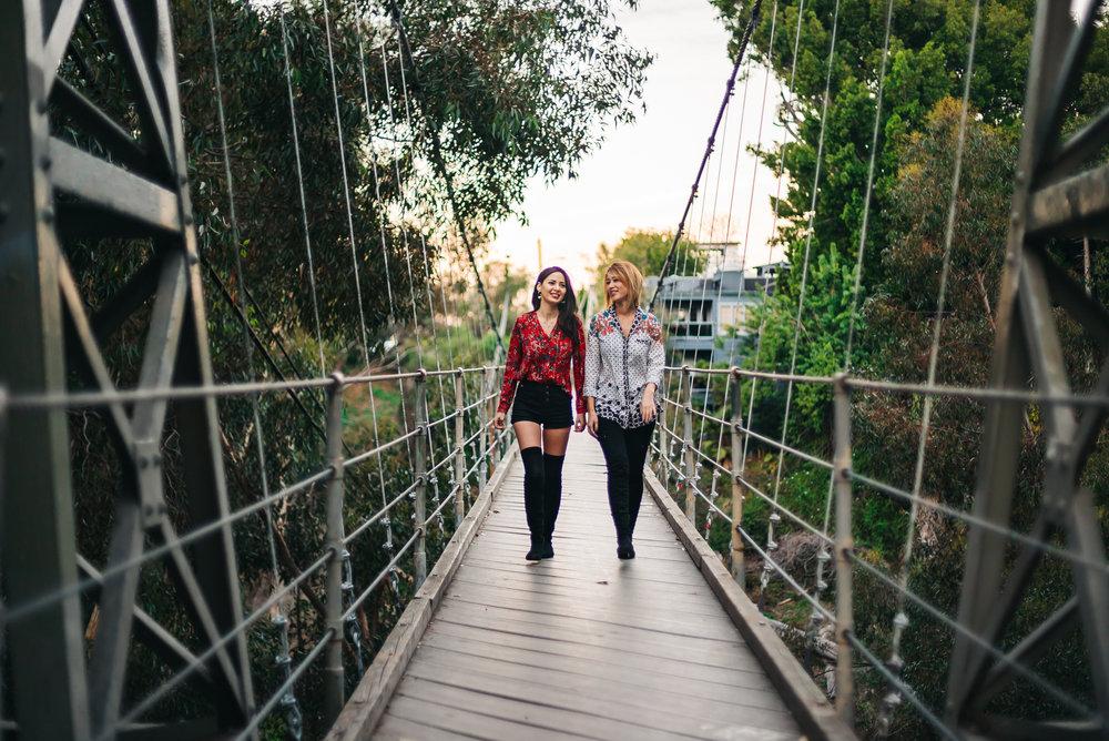 Spruce Street Suspension Bridge San Diego, CA