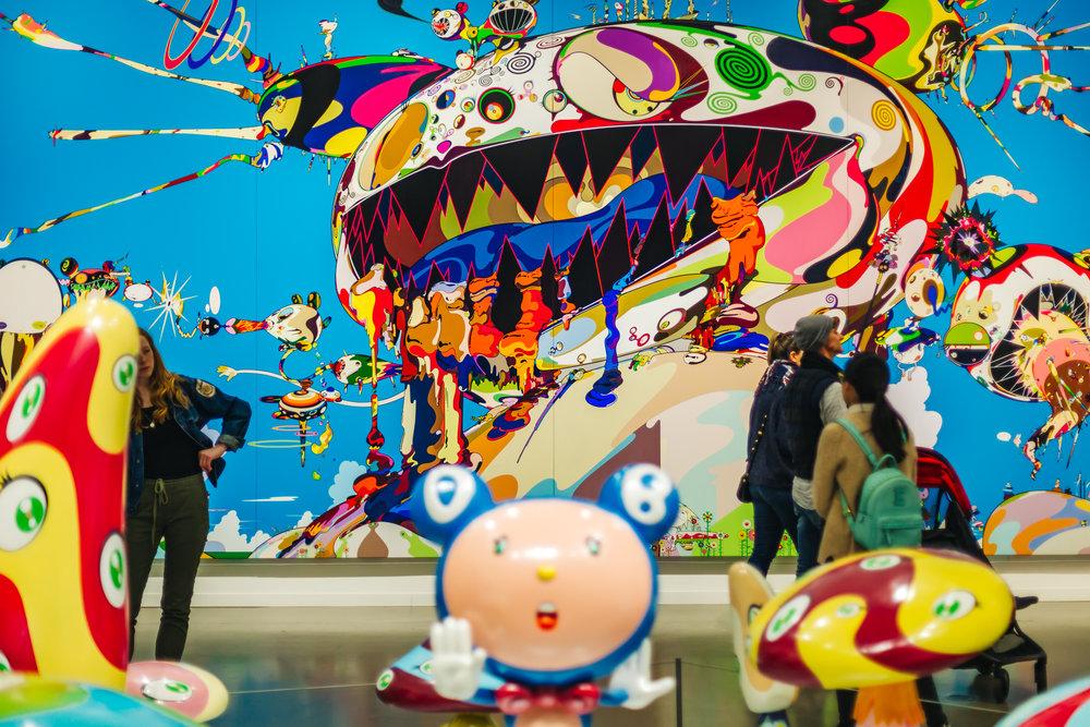 TAKASHI MURAKAMI exhibit
