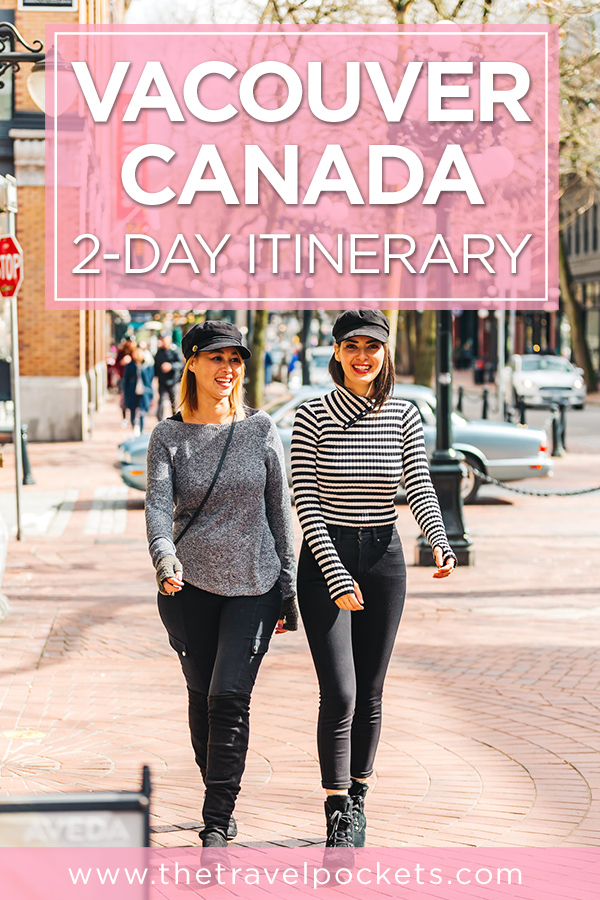 PINTEREST Vancouver Itinerary