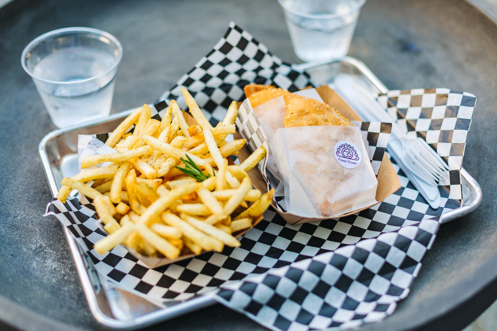 WE COULDN'T GET ENOUGH OF THOSE ROSEMARY FRIES!