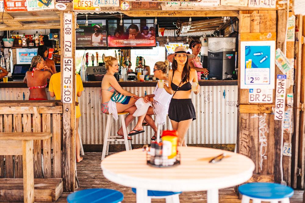 Fun Beach Bar at Postcard Inn