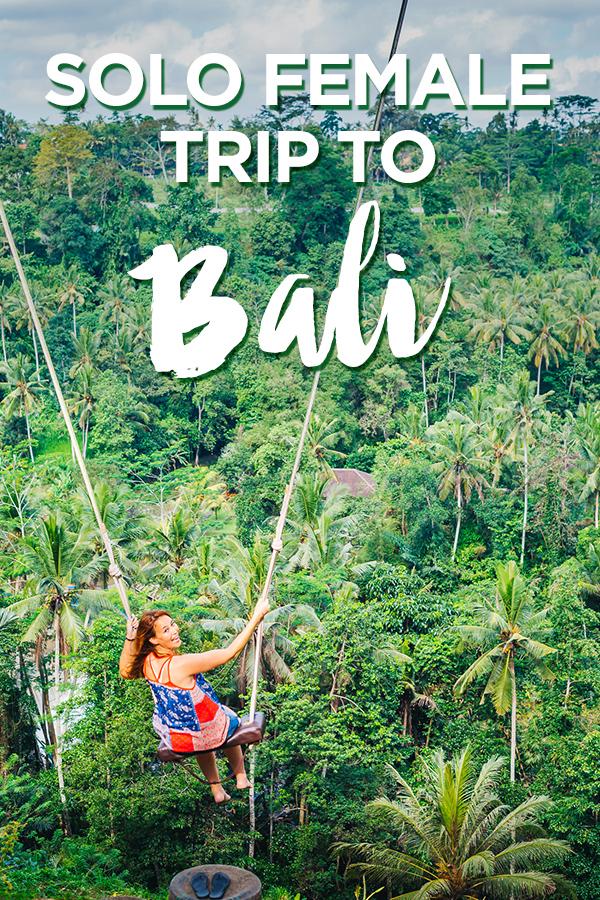 Solo Female Trip to Ubud Bali