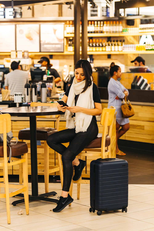 away   Suitcase \\   lamini   scarf