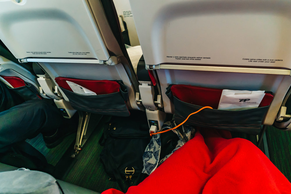 Plenty of leg room on TAP Air Portugal Executive Class