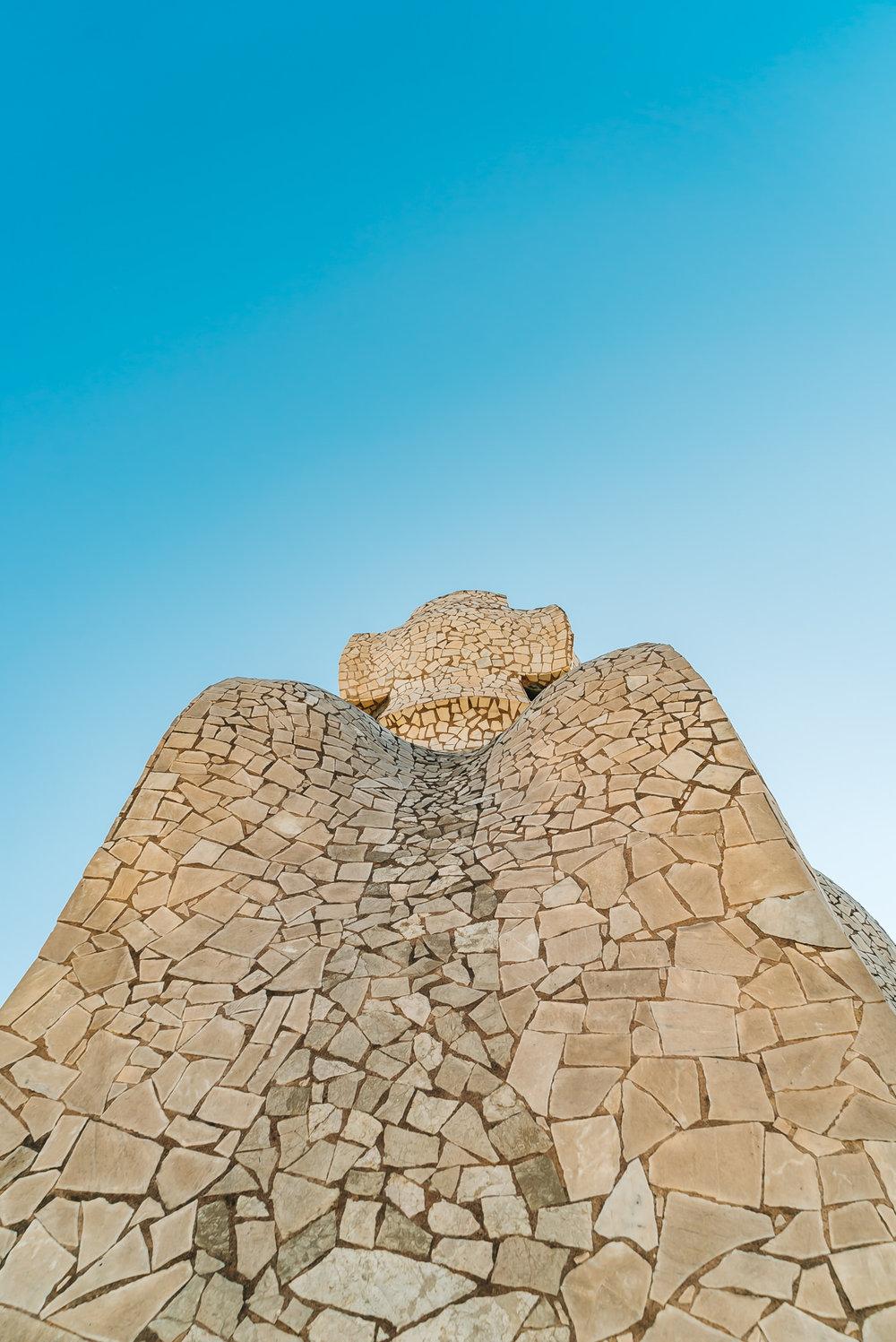 Gaudi's Earth sculpture