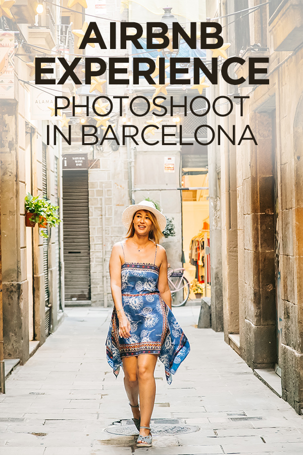 Airbnb Experience Barcelona Photoshoot