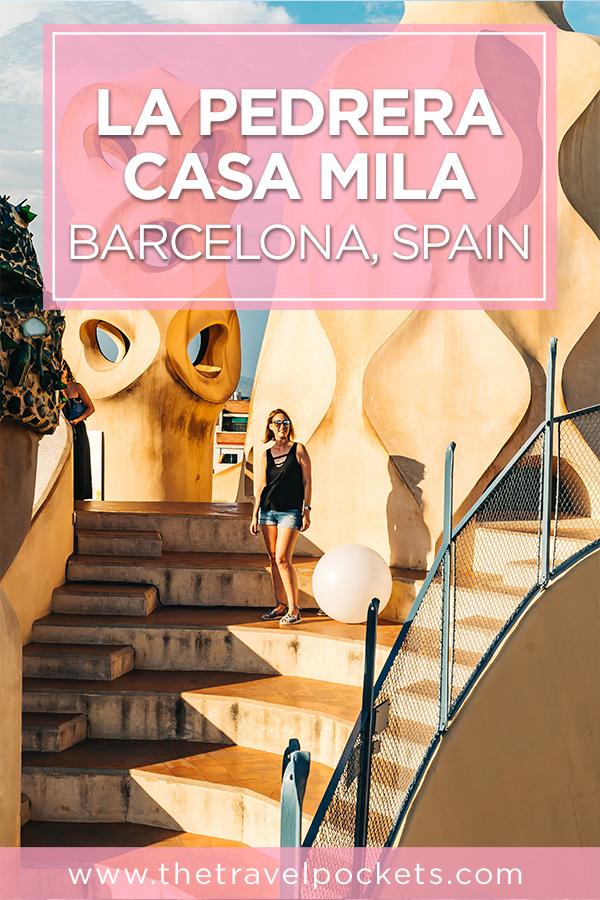 La Pedrera Casa Mila Casa Mila La Predada #Barcelona #Spain #Gaudi