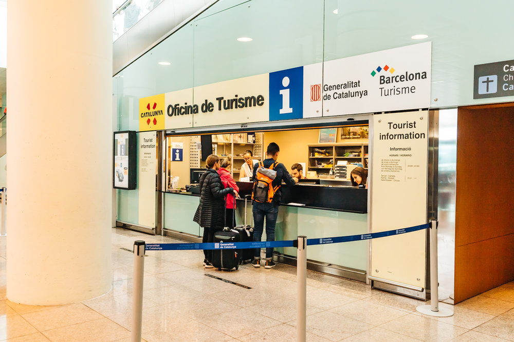You can buy the Aerobus tickets online or purchase them at the tourism desk at the airport