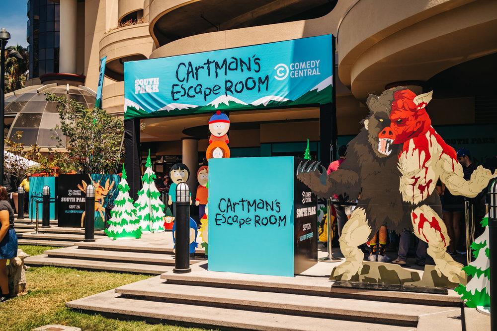 2018 Comic Con Cartman's Escape Room