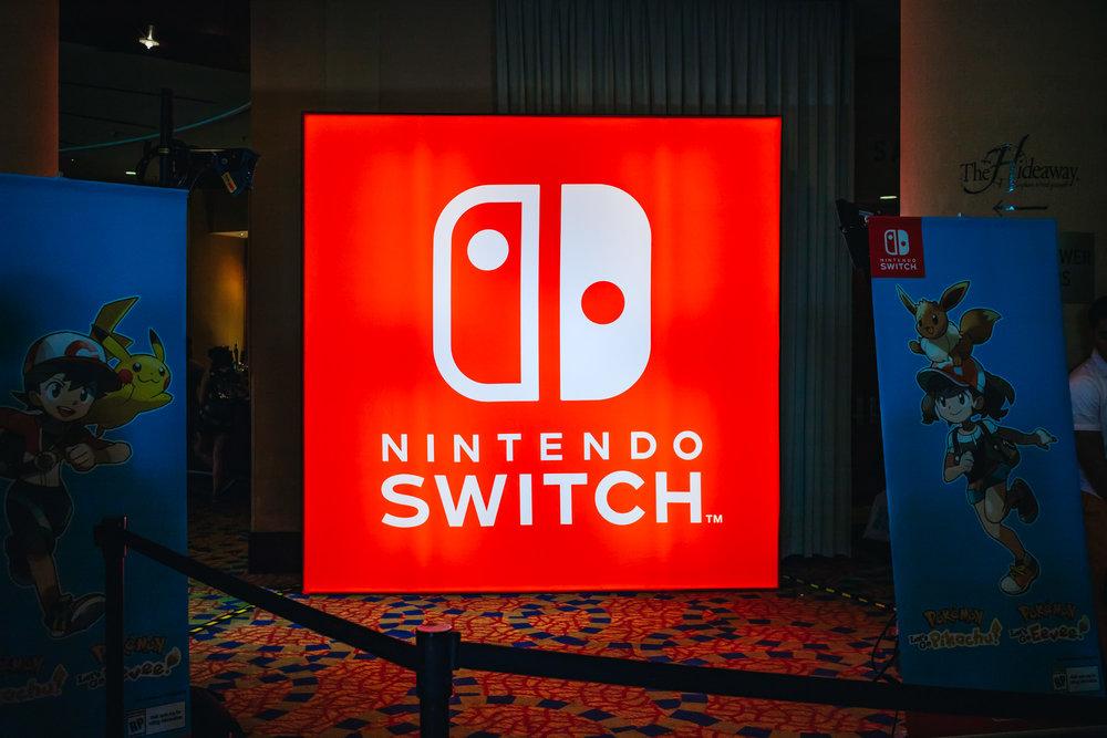 2018 Comic Con Nintendo Lounge