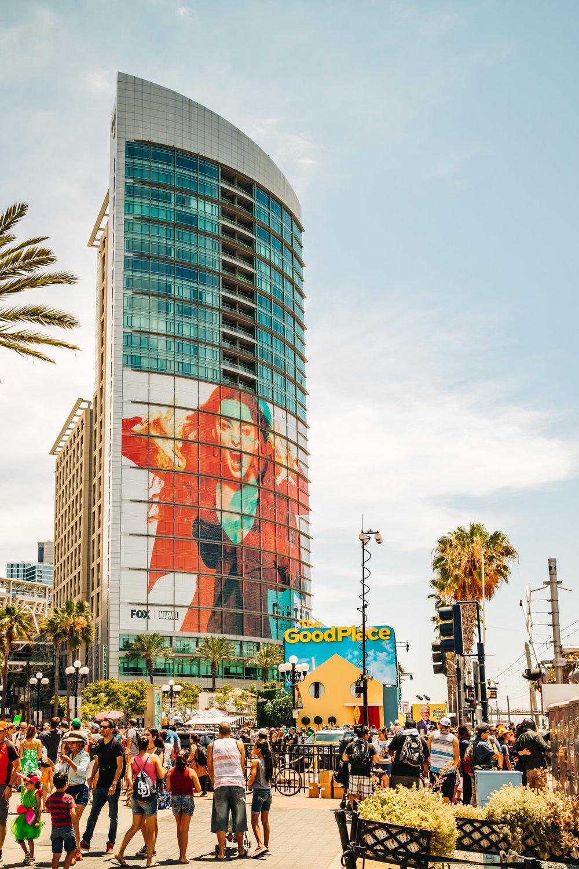 2018 Comic Con Downtown San Diego